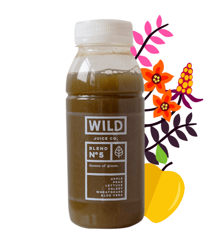 The official CBD edition of Queen of Green from Wild Juice