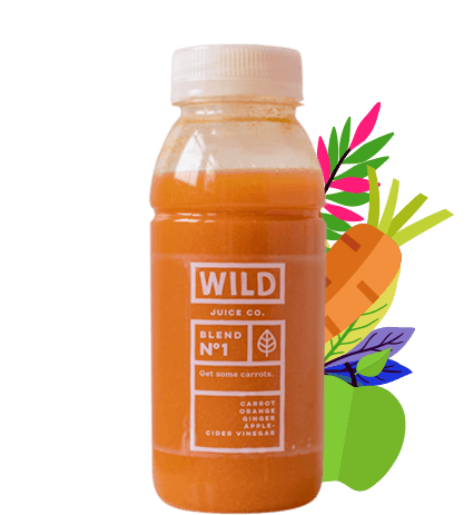 CBD 'Get some carrots' juice as part of a 7 day juicetox journey.
