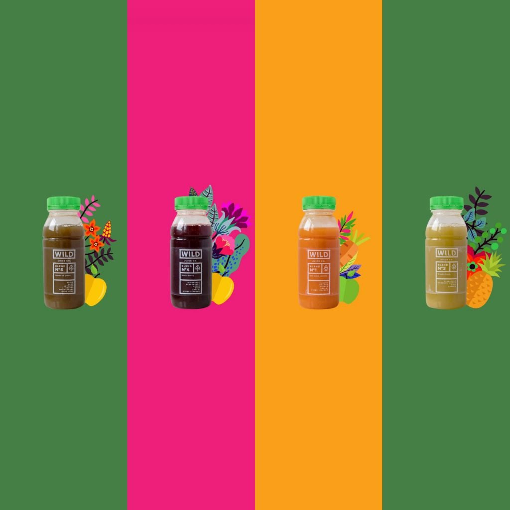 Four of our CBD Juices