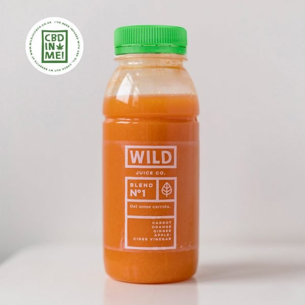 Bottle of CBD Get some Carrots