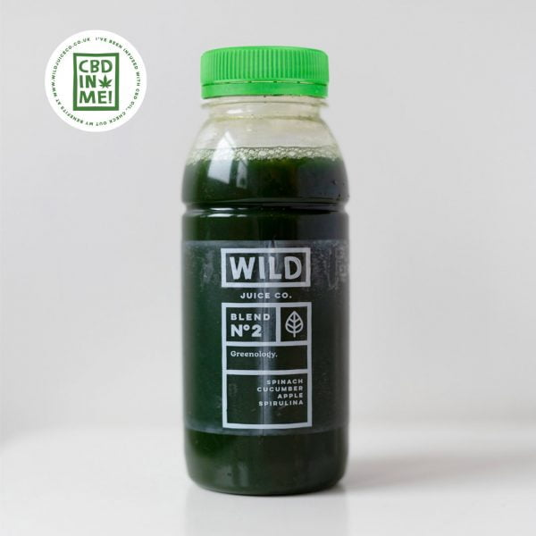 Bottle of CBD Greenology