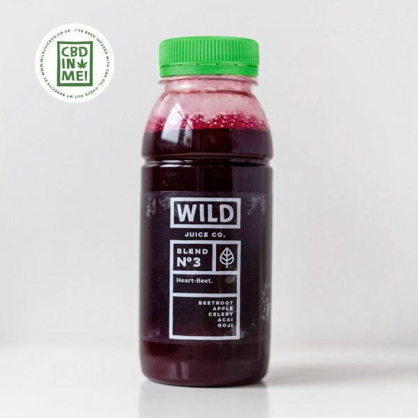 Bottle of CBD Heart-Beet